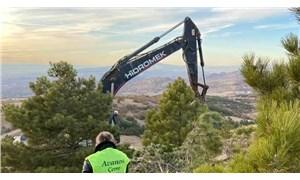Kanadalı şirket, Avanos'ta ağaçları keserek altın arama çalışmaları başlattı