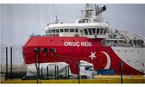 Oruç Reis, Avrupa Birliği zirvesi öncesi Antalya Limanı'na geri döndü