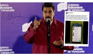 """Venezuela Devlet Başkanı Maduro, numarasını paylaştı: """"Bana yazın"""""""