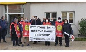 PTT emekçileri: Çalışma koşulları bizi öldürüyor