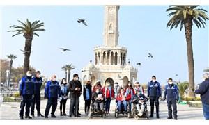 İzmir Büyükşehir Belediyesi'nden Uluslararası Engelliler Günü'nde farkındalık yürüyüşü