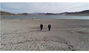 Karacalar Barajı da kurudu