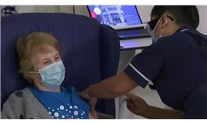 İngiltere'de ilk Covid-19 aşısı 90 yaşındaki Margaret Keenan'a yapıldı