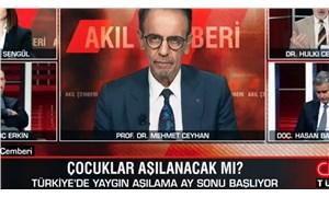 Prof. Dr. Mehmet Ceyhan canlı yayında fenalaştı, hastaneye kaldırıldı
