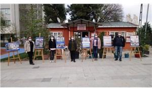 AKP'li Üsküdar Belediyesi, deprem bilgilendirme etkinliğinin afişlerini toplattı!
