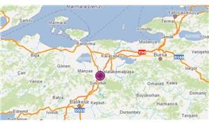 Balıkesir'de 4.1 büyüklüğünde deprem