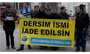 'Dersim Kültür ve Tarih Vakfı kurulmalı'