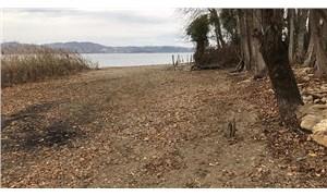 Sapanca Gölü'nde su miktarı kritik seviyeye düştü