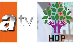 ATV, HDP'nin suç duyurusu sonrası aynı görseli yine kullandı