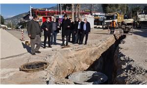Fethiye'de altyapı çalışmalarının yüzde 45'i bitti