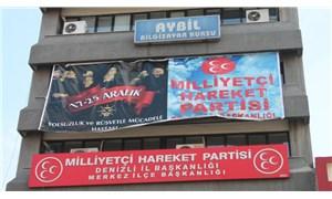 MHP'nin ilan ettiği '17-25 Aralık Rüşvet ve Yolsuzlukla Mücadele Haftası' başladı