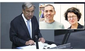 BM Genel Sekreteri Guterres: Almanlar Uğur Şahin ve Özlem Türeci ile gurur duymalı