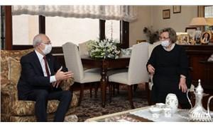 Kılıçdaroğlu, Türkeş'i ziyaret etti