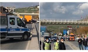 AKP'li Pendik Belediyesi, İBB ekiplerinin yolunu kesti