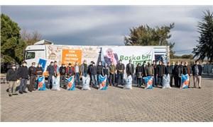 İzmir Büyükşehir Belediyesi'nden Aliağalı üreticilere yem desteği
