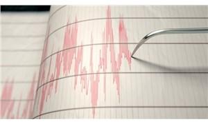 Elazığ'da 5,6 büyüklüğünde deprem