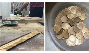 Altınların gramlarıyla oynamak için atölye kurmuşlar