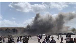 Yemen'de kabine üyelerinin indiği havalimanında patlama: 13 can kaybı, 65 yaralı