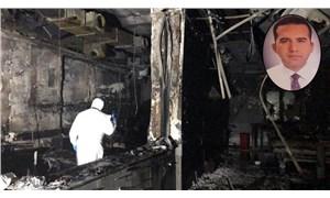 Antep'te hastane yangınında yaralanan akademisyen yaşamını yitirdi