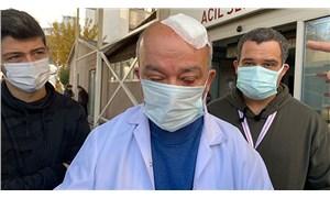 Maske uyarısı yapan doktora taşlı saldırı