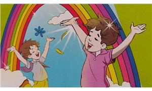 Gökkuşağı temalı kitaba bakanlık engeli: Çocuklar için sakıncalı bulundu