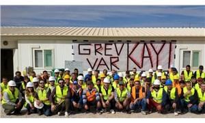 Kayı İnşaat işçileri iki yıldır haklarını alamıyor