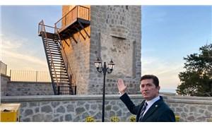 Tarihi kuleye demir merdiven monte edildi: 'Bunun adı restorasyon değil rezalet'