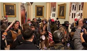 ABD'de karmaşa: Trump destekçileri Kongre'yi bastı