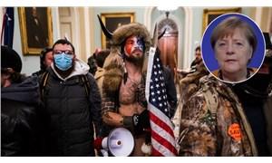Merkel'den ABD Kongresi'nin basılmasına ilişkin yorum: Görüntüler beni kızdırdı