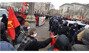 Rosa Luxemburg, Karl Libknecht anma yürüyüşünde polis şiddeti