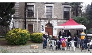 Boğaziçi Üniversitesi'nde Kayyumluk önündeki nöbet devam ediyor