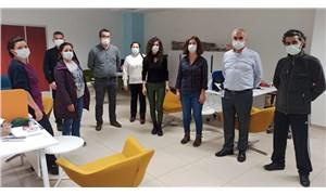 SES Antalya Şubesi'nden iş yeri ziyaretleri: Çığlığımız duyulmadı; şimdi sıra maskelerimizde!
