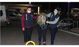 Uyuşturucu görüntülerinde Ümitcan Uygun'un yanında bulunan kadın gözaltına alındı