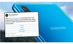 Samsung ABD Twitter hesabı, paylaşımı iPhone kullanarak yaptı