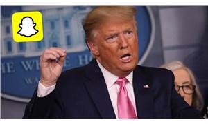Snapchat Trump'ın hesabını kapatacağını açıkladı