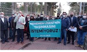 Veliler, Anadolu Lisesi'nin taşınmasına tepkili