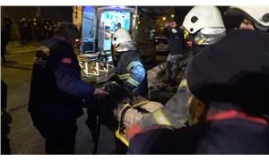 Antep'te bina çöktü: 4 yaralı