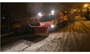 Maltepe'de 250 kişilik ekiple kar seferberliği