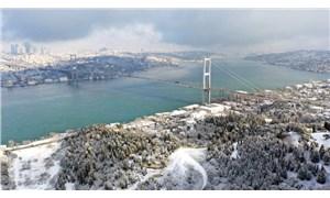 Fotoğraflarla: İstanbul'da kar yağışı etkili oldu