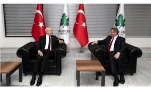 Kılıçdaroğlu, Davutoğlu'nu ziyaret etti