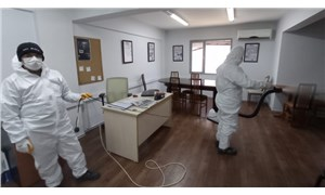 Konak'ta dezenfeksiyon çalışmaları sürüyor