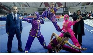 Wushu Federasyonu aile arasında turnuva düzenlemiş