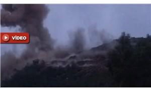 Akkuyu Nükleer Santrali inşaatındaki patlamadan yeni görüntüler ortaya çıktı