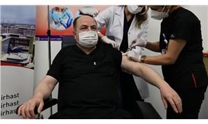 ANAP Genel Başkanı da 'devlet büyüğü' kontenjanından Covid-19 aşısı yaptırdı
