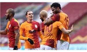 Galatasaray su molası aldı