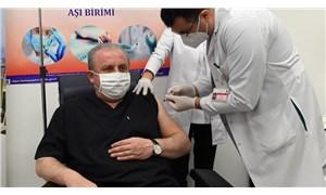 Meclis Başkanı Şentop aşı oldu, bugüne kadar 142 vekilde Covid-19 tespit edildiğini açıkladı