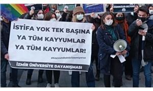 İzmirli gençler kayyumlara karşı bir araya geldi: Tüm üniversitelerdeki kayyumlar acilen istifa etmelidir