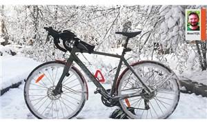 Bisiklet tutkusu kar kış dinlemez
