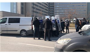 Sağlık emekçilerinin protestosuna polis müdahalesi: 8 kişi gözaltına alındı