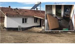 Kızına cinsel istismardan tutuklandı, evi ateşe verildi
